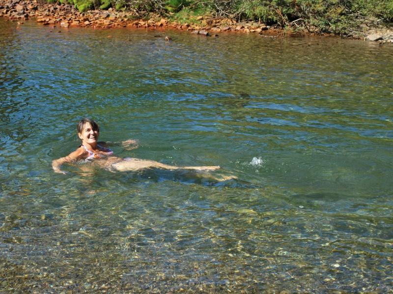 Lacs, Cascades et Bain à Bulles