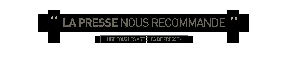 Revues de presse Chalet d'en Hô