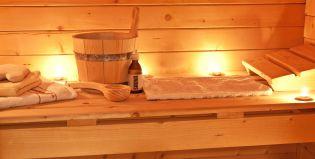 Sauna Finlandais dans notre hotel spa