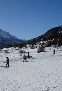 Ski Alpin à Champ Bellet