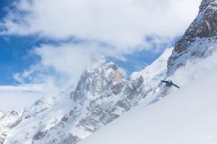 Ski freeride à La Grave