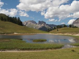 Lac Chavillon au Col des Thures - Névache, Vallée de la Clarée