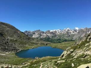 Lac du Serpent à 2450m