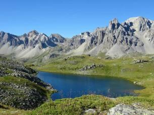 Lac Long à 2387 mètres