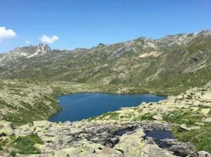 Lac Rond à 2446 mètres