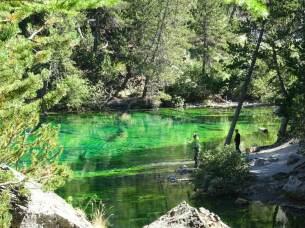 Lac Vert à 1834 mètres