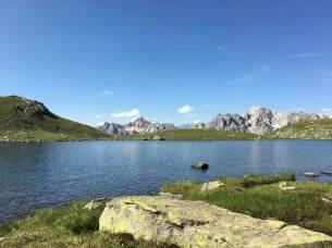Lacs de la Madeleine à 2629 mètres