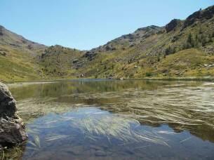 Lac de Cristol à 2245 mètres