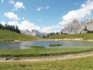 Lac Chavillon à 2194 mètres