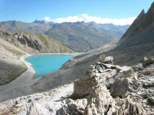 Lac des Béraudes à 2504 mètres