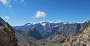 Vue du Col des Béraudes