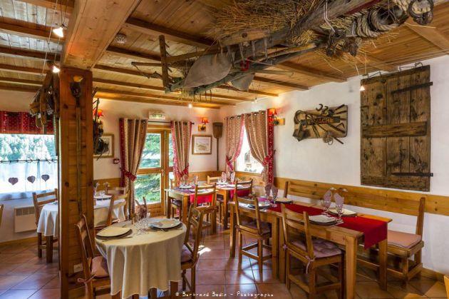 Restaurant du Chalet d'en Hô à base de produits régionaux