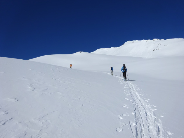 Ski de randonnée en Vallée de la Clarée