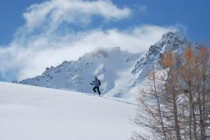 Activités hivernales à Névache
