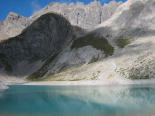 Lac des Béraudes, l'une des balades lors des 5 jours de randonnée