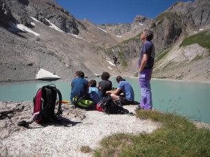 Randonnée en liberté en Clarée dans les Alpes du Sud