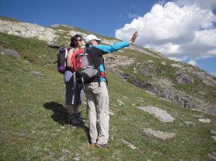 Randonnée en liberté dans la vallée de la Clarée, Hautes-Alpes