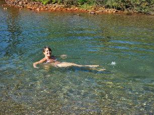Randonnée en étoile en Clarée, baignade à la Cascade de Fontcouverte