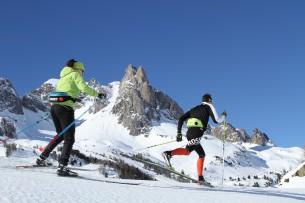 Ski de fond / nordique à Névache dans la vallée de la Clarée