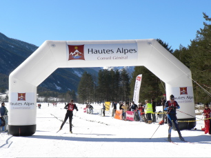 Course de Ski de Fond à Névache