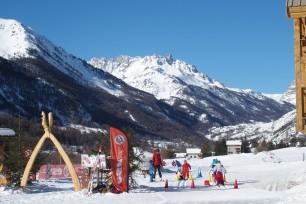 Ski avec l'ESF de Névache