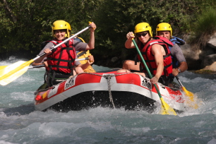 Rafting dans le Briançonnais