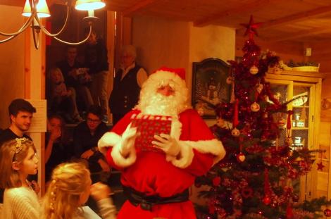 Le Père Noël au Chalet d'en Hô