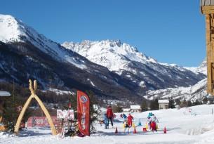 Départ des pistes de Ski de Fond près du Chalet d'en Hô