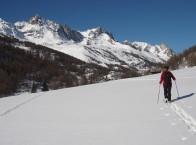 La vallée de la Clarée en hiver