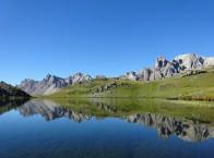 Lac dans la vallée de la Clarée
