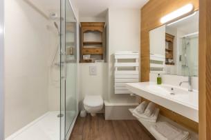 Salle de bain du Chalet d'en Hô